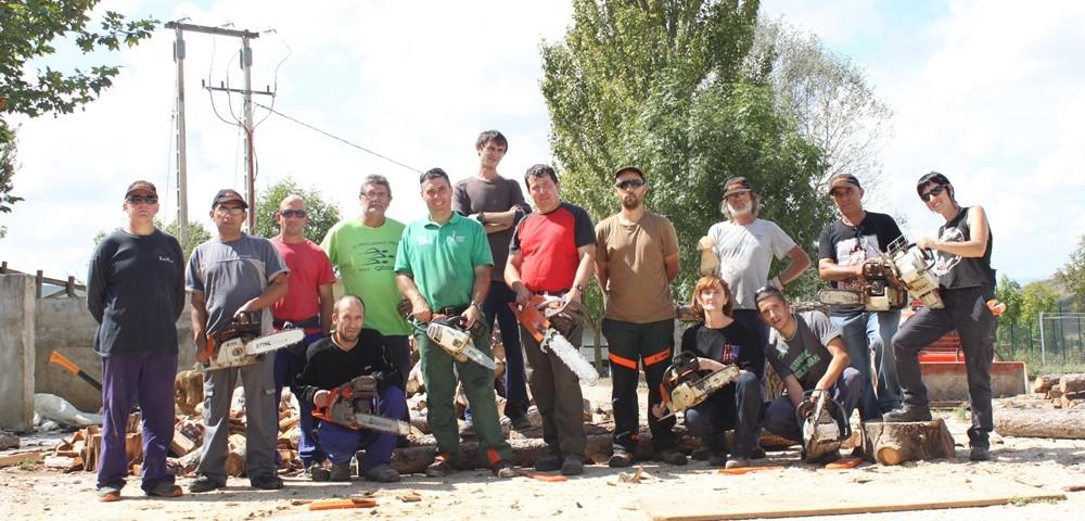 escuela taller forestal - granja escuela haritz berri