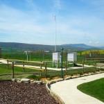 Estación meteorológica. Granja Escuela haritz Berri