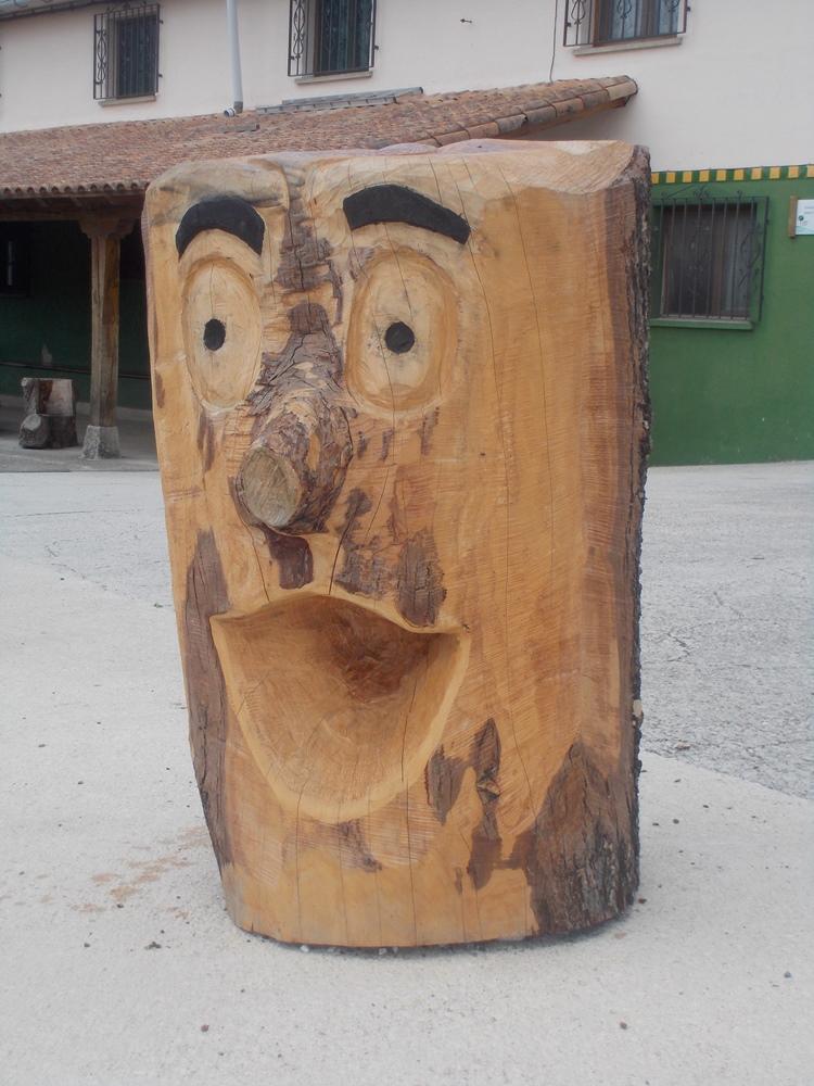 El tronco animado de las visitas
